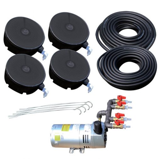 Peak O2 Large Pond Aeration Kit For Ponds To 1 5 Acre Under 20 39 Deep