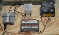 Solar charge and voltage controllers
